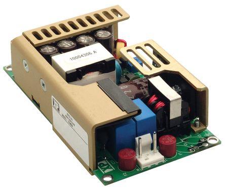 XP Power , 100W AC-DC Converter, 15V dc, Open Frame, Medical Approved
