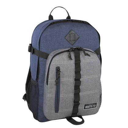 Roots@ RTS4613 Laptop Backpack, fits 15.6'', Blue & Grey