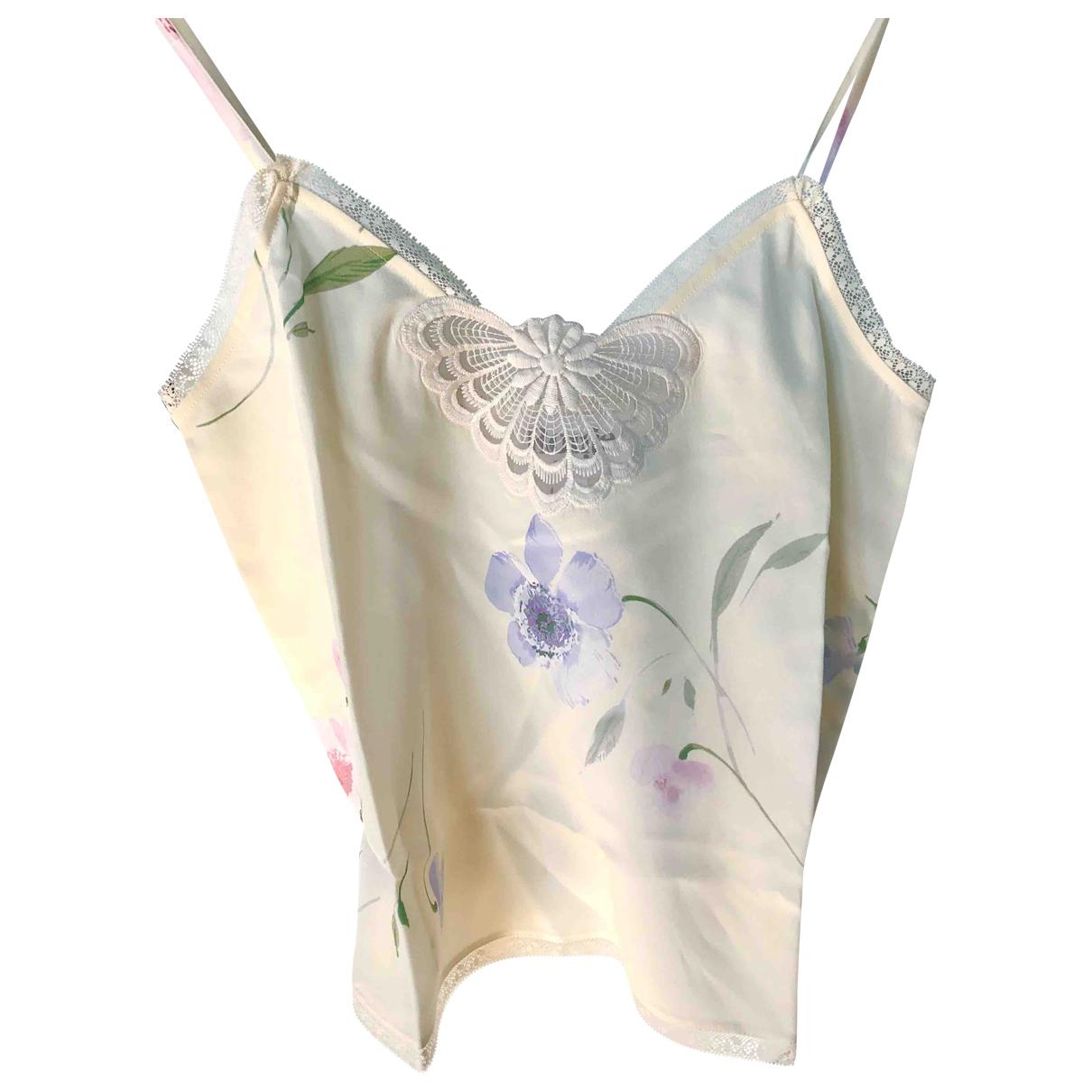 Rouje - Top Spring Summer 2020 pour femme en soie - jaune
