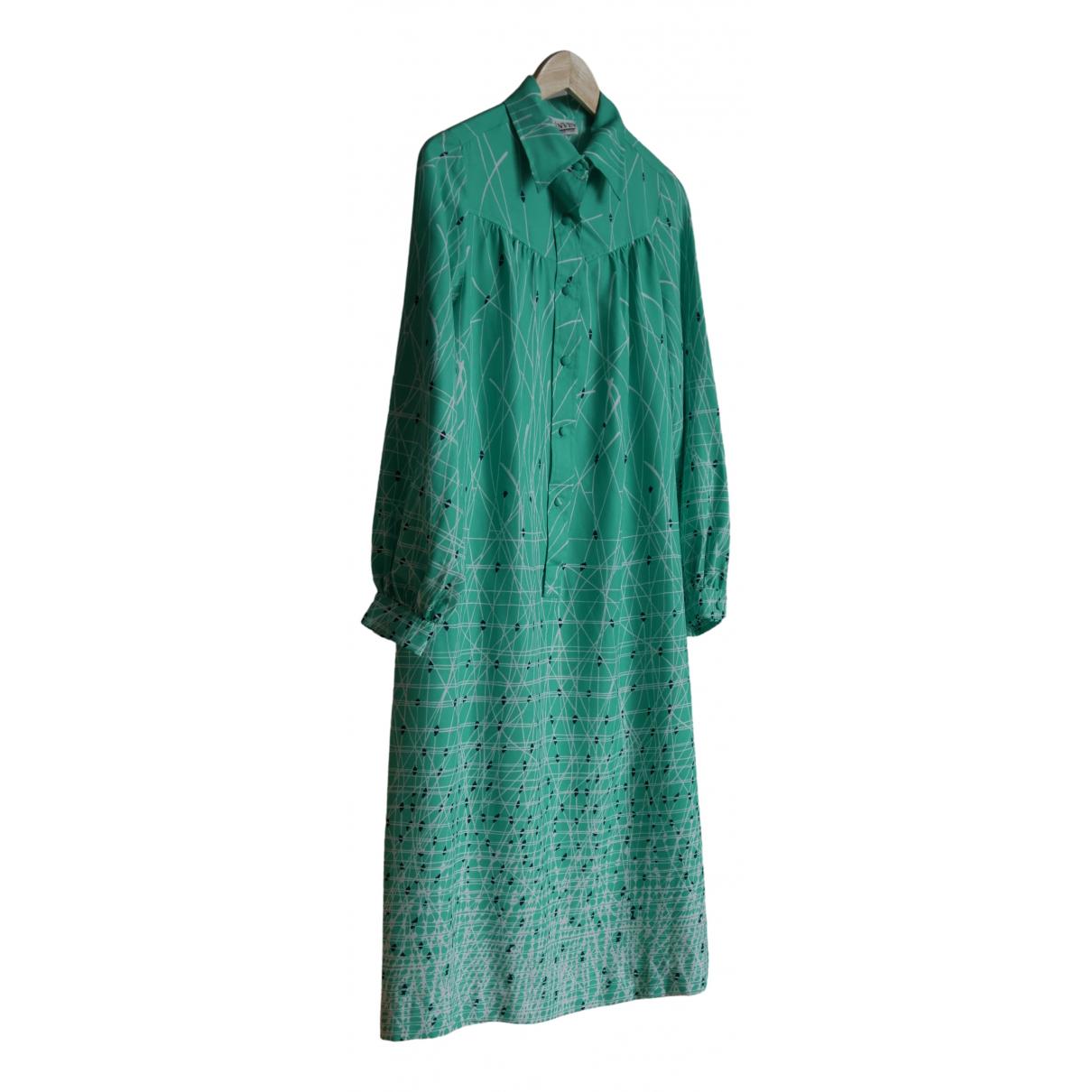Lanvin - Robe   pour femme - vert