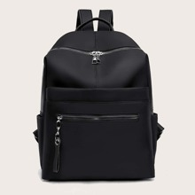 Minimalist Pocket Front Backpack