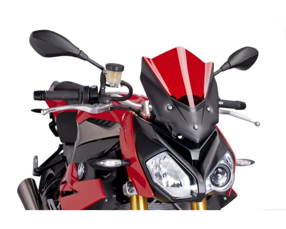 Puig 7040R Naked New Gen Sport Windscreen - Red BMW S1000R 2014