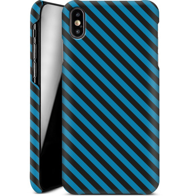 Apple iPhone XS Max Smartphone Huelle - Stripes von caseable Designs