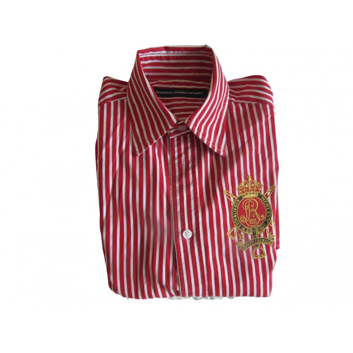 Ralph Lauren \N Red Cotton Shirts for Men XS International