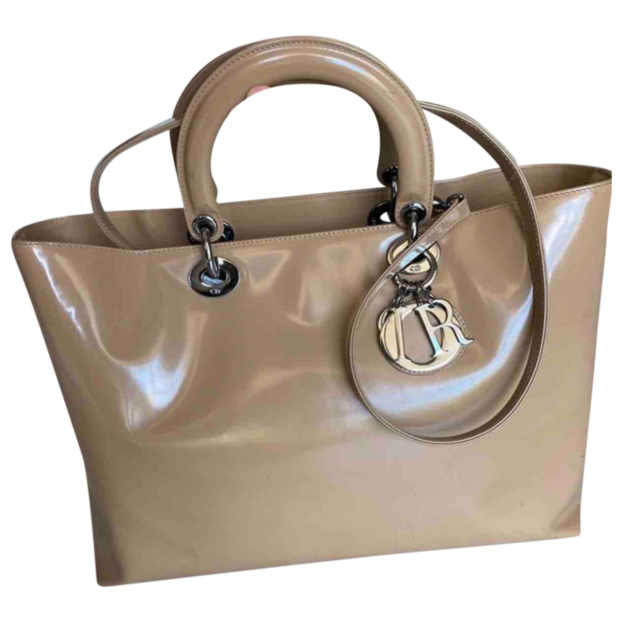 Dior My Lady Dior Beige Leather handbag for Women \N