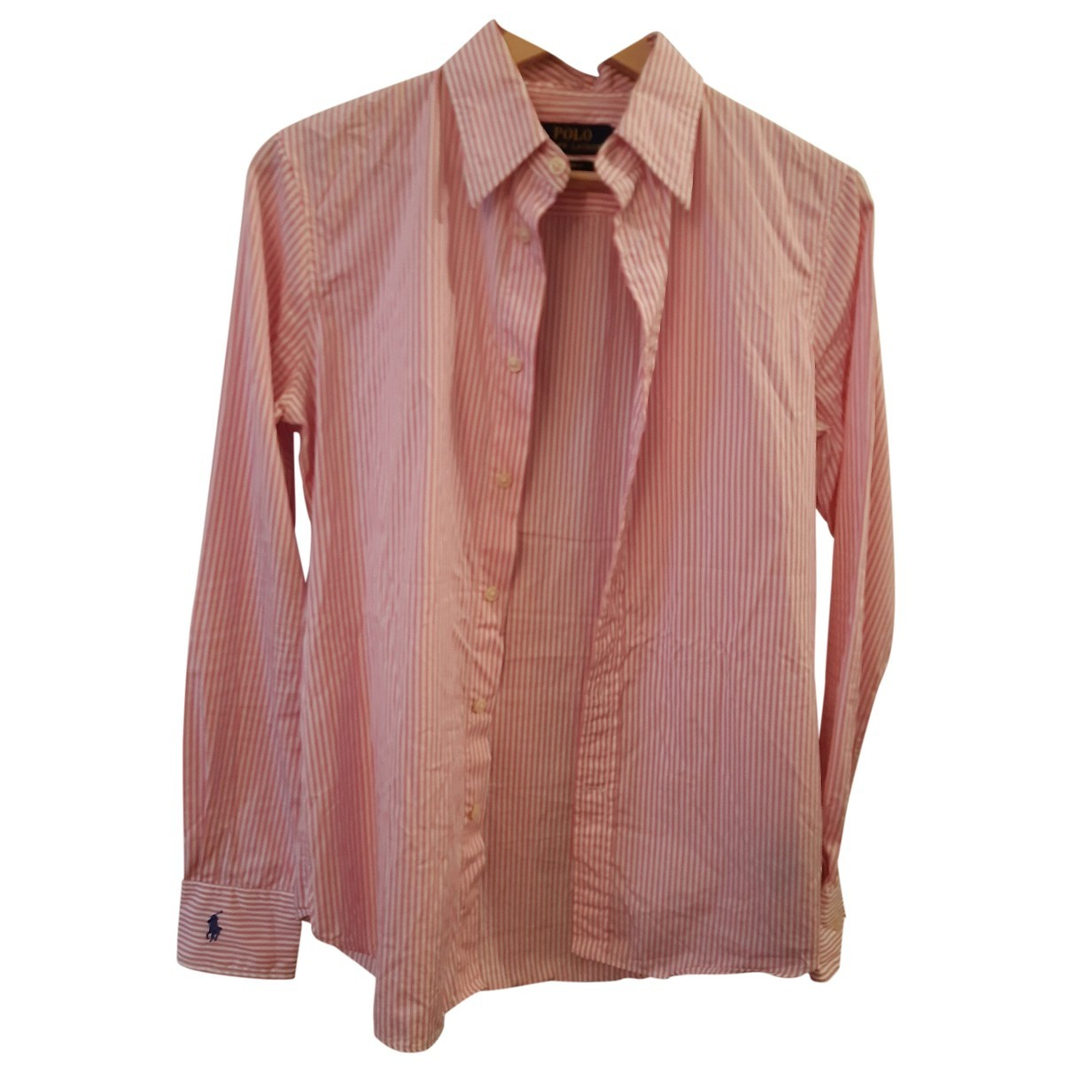 Polo Ralph Lauren \N Pink Cotton  top for Women 6 US