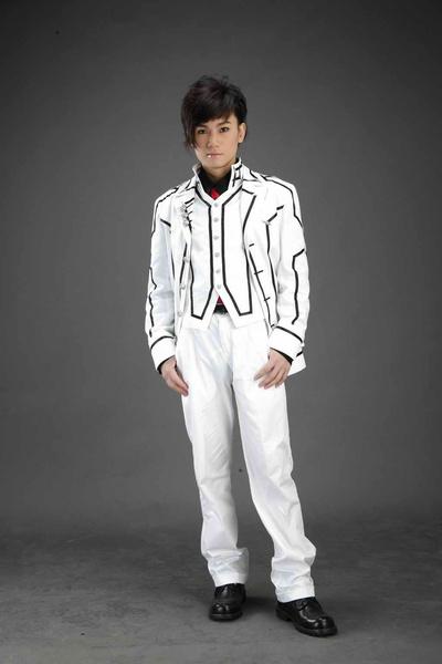 Milanoo Halloween Uniforme blanco para Cosplay de Vampire Knight