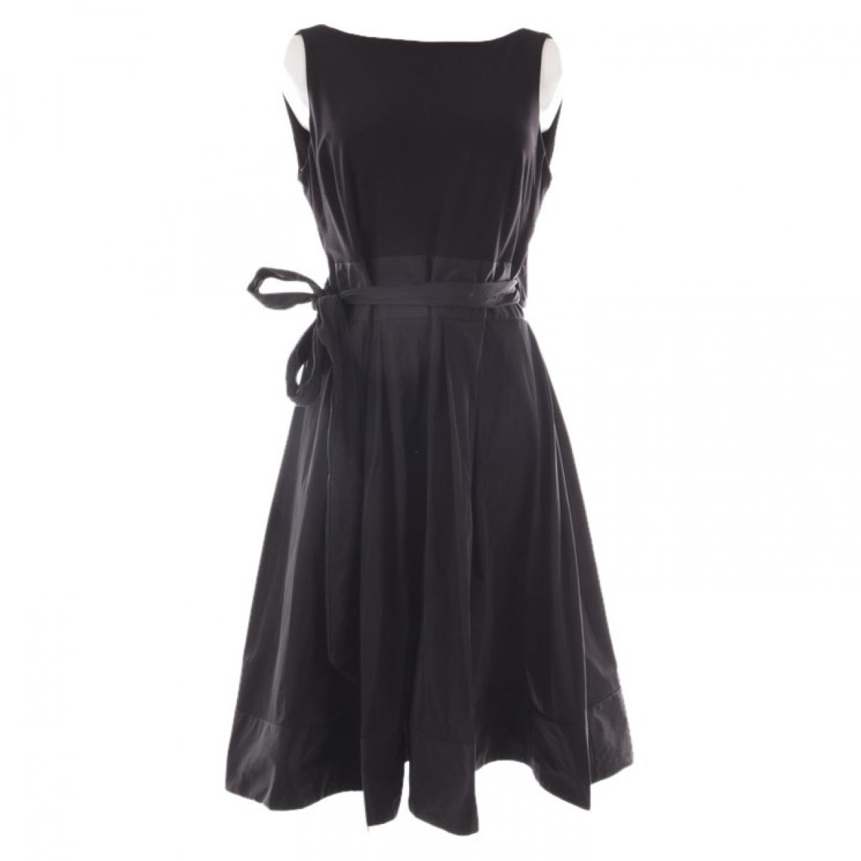 Joseph Ribkoff \N Kleid in  Schwarz Baumwolle