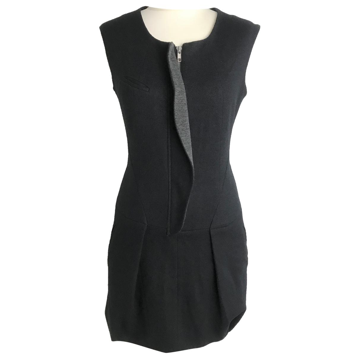 Isabel Marant Etoile \N Kleid in  Schwarz Wolle
