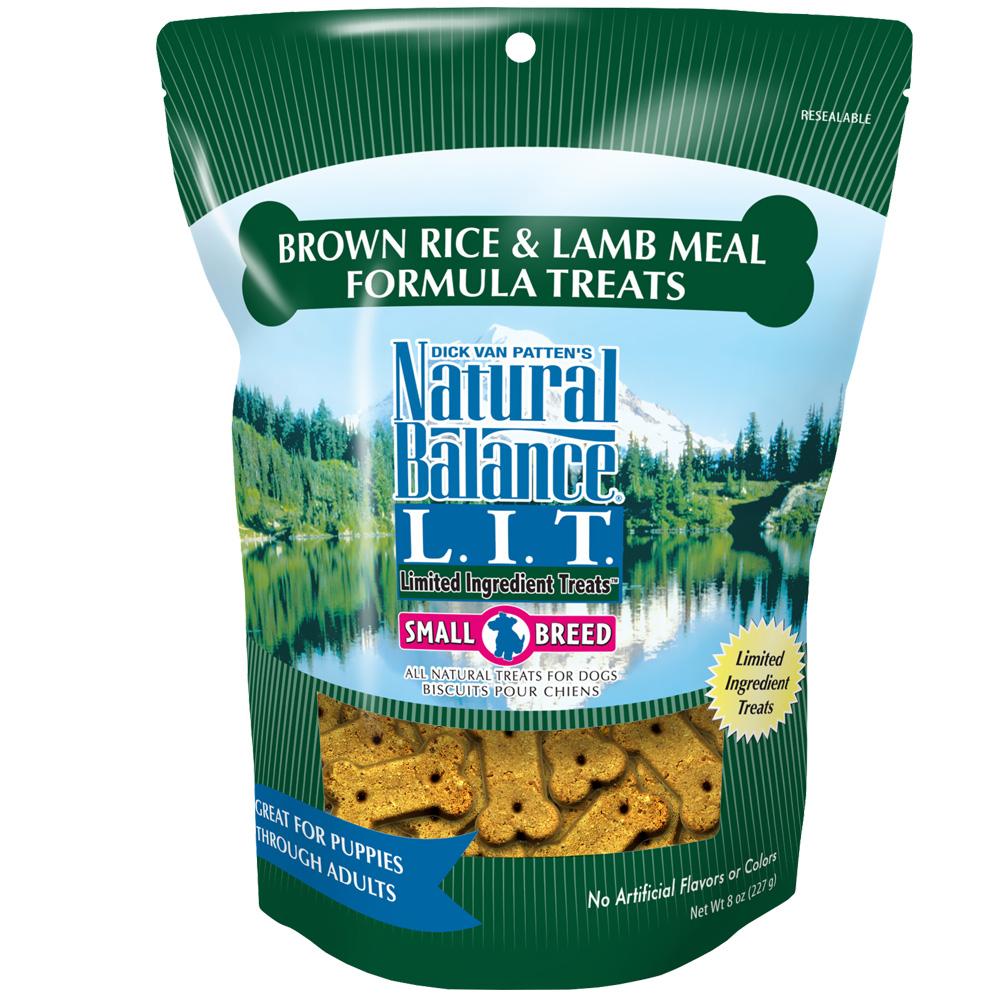 Natural Balance Limited Ingredient Treats - Brown Rice & Lamb (8 oz)