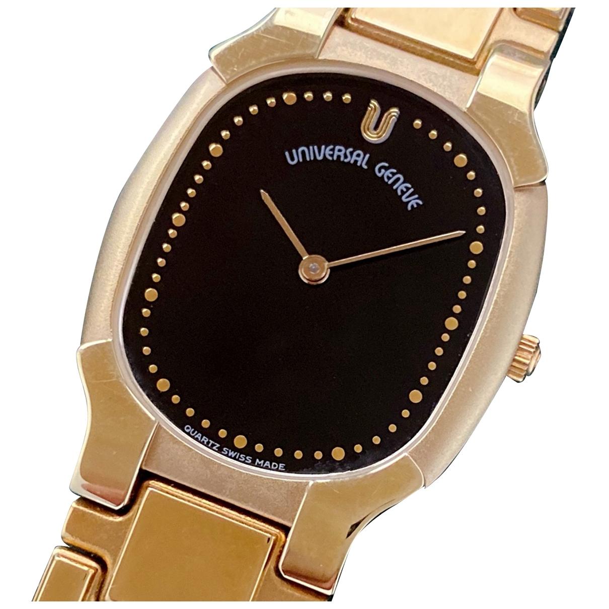 Universal Geneve \N Uhr in  Gold Vergoldet