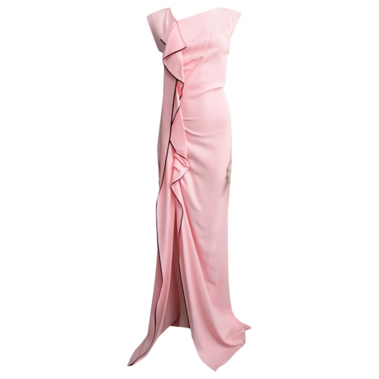 Vionnet \N Kleid in  Rosa Viskose