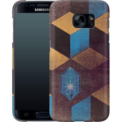 Samsung Galaxy S7 Smartphone Huelle - Cubes Gems von Brent Williams