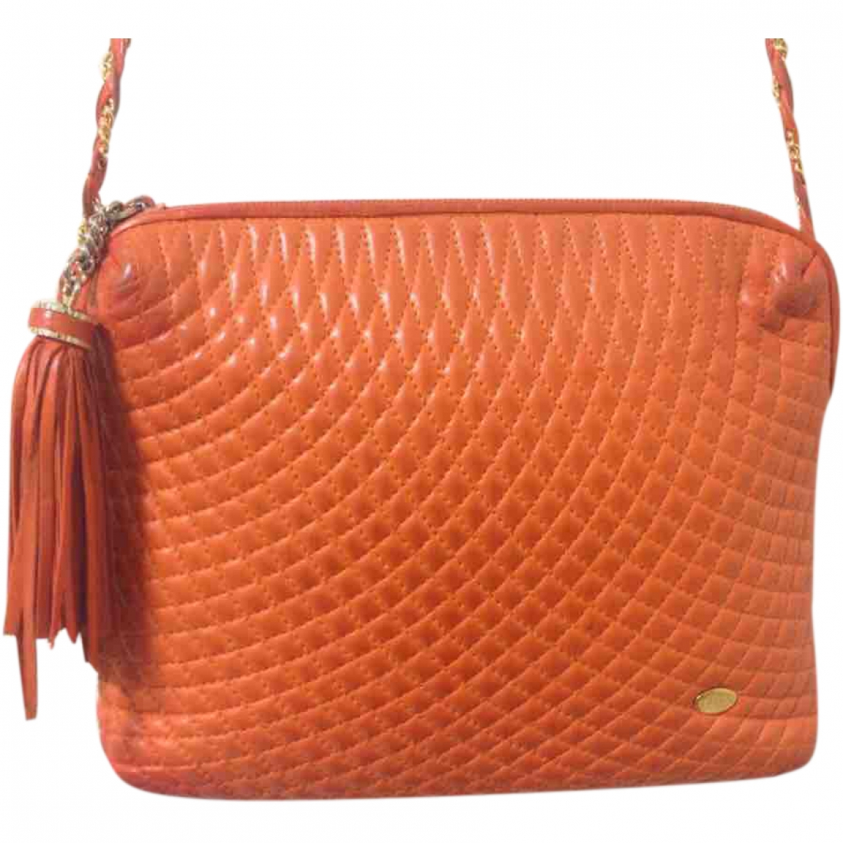 Bally \N Orange Leather handbag for Women \N