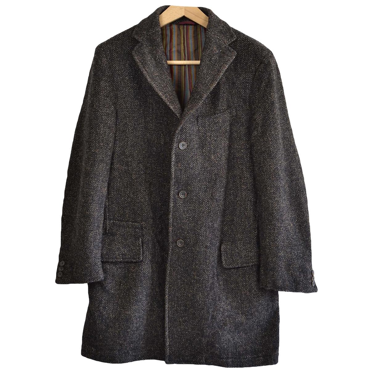 Lardini \N Brown Wool coat  for Men 50 IT