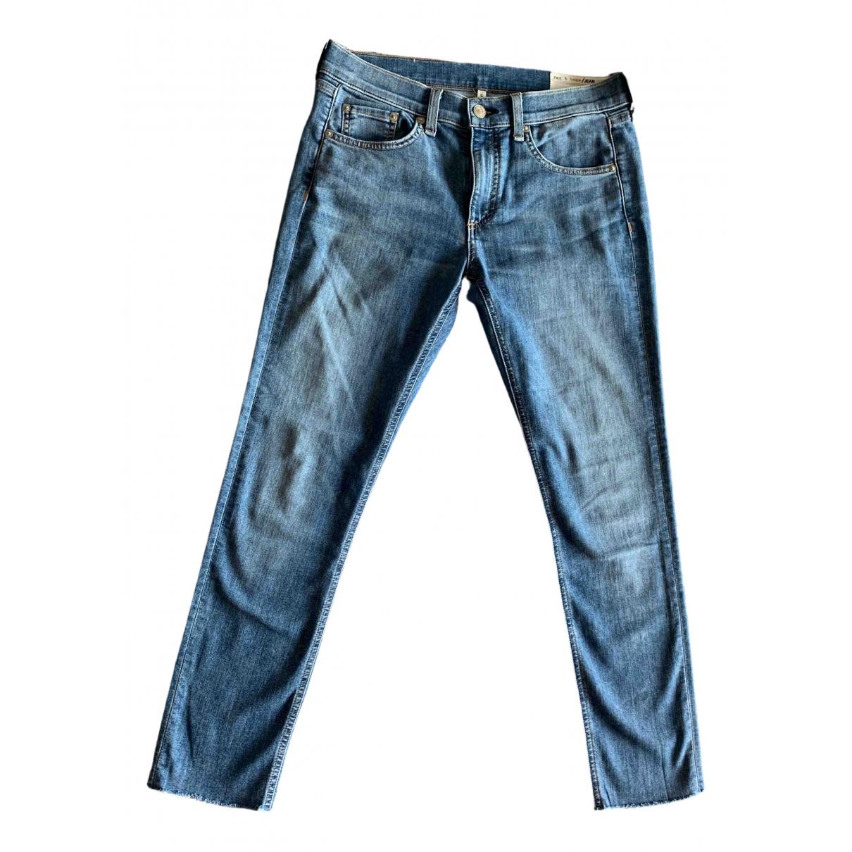 Rag & Bone \N Blue Denim - Jeans Jeans for Women 27 US