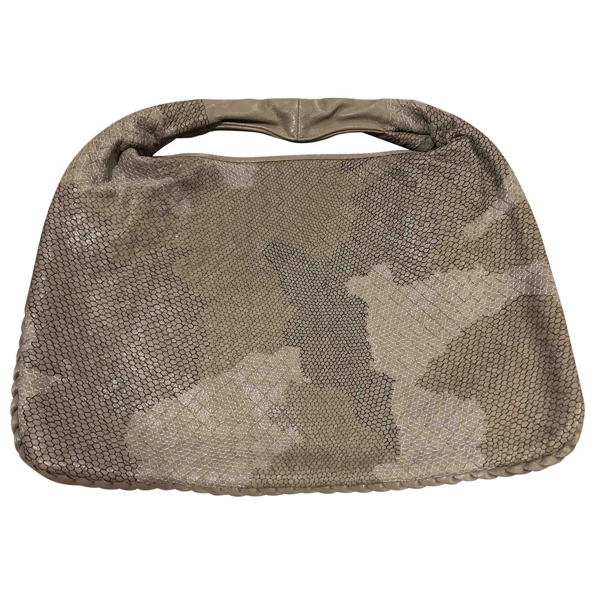 Bottega Veneta Veneta Beige Leather handbag for Women \N