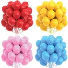 22 Stuecke Einfarbiger dekorativer Ballon