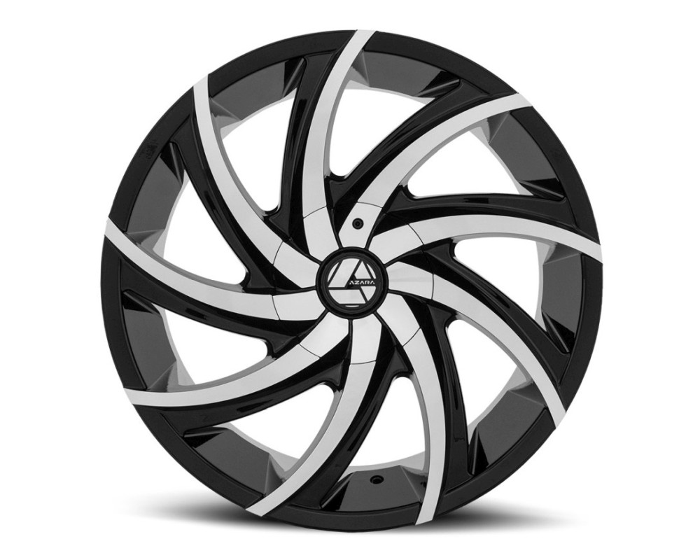 Azara 503 Wheel 22x8.5 5x114.3|5x120 38mm Gloss Black Machined
