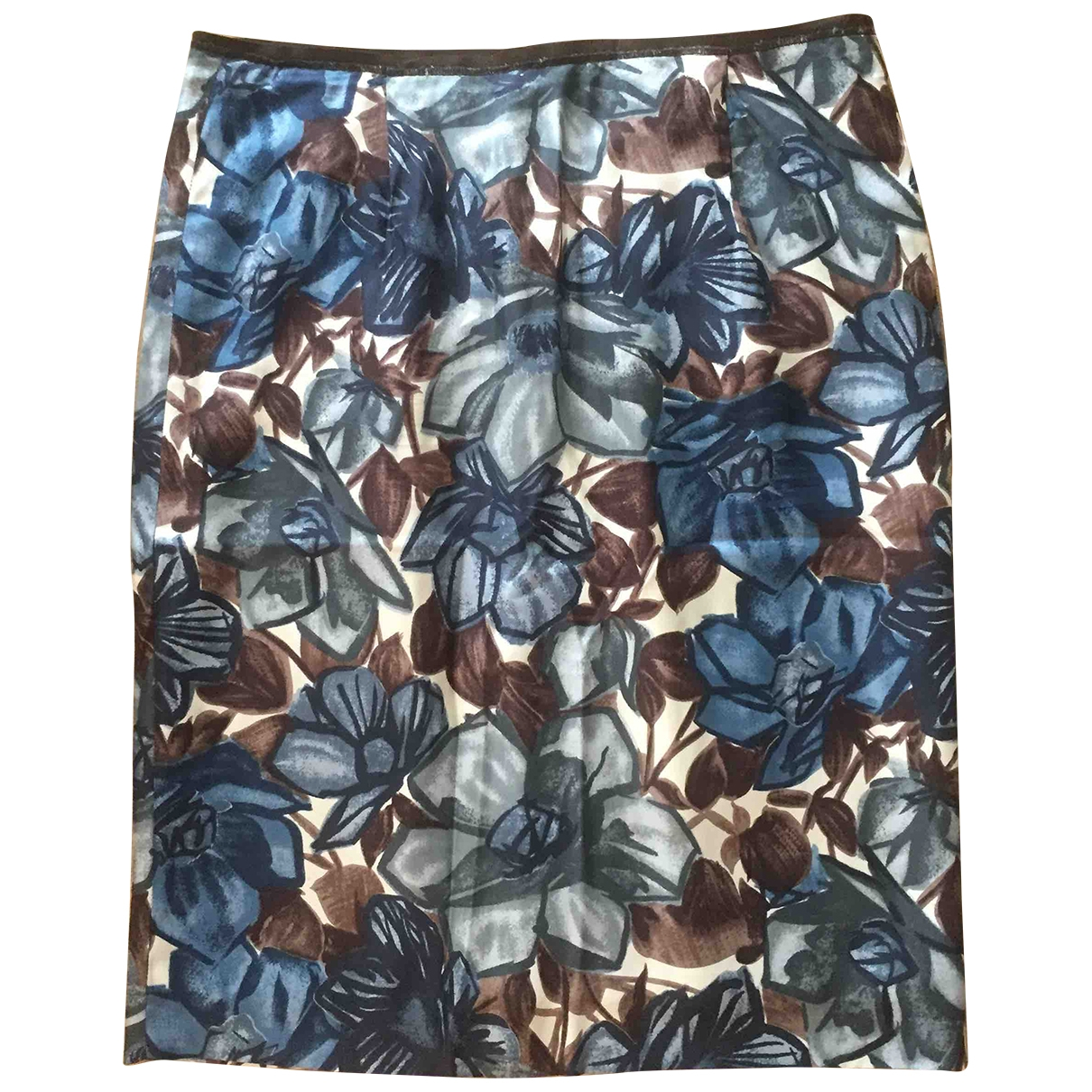 Non Signé / Unsigned \N Multicolour Silk skirt for Women 44 IT
