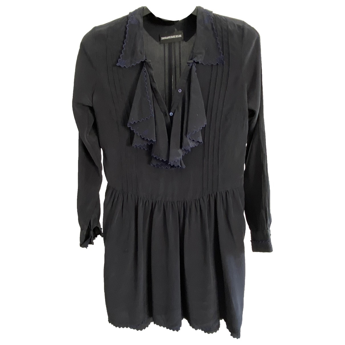 Zadig & Voltaire \N Navy Silk dress for Women S International