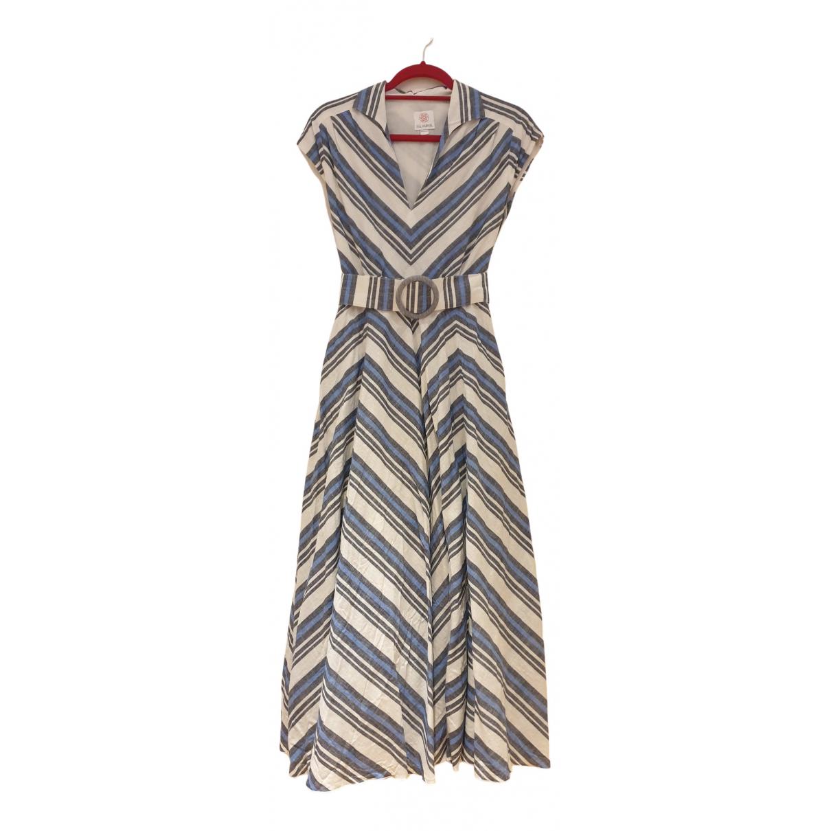 Maxi vestido de Lino Gul Hurgel