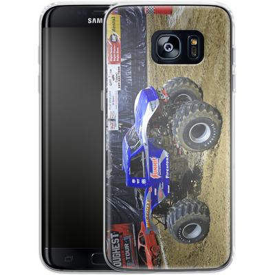 Samsung Galaxy S7 Edge Silikon Handyhuelle - Puddle von Bigfoot 4x4