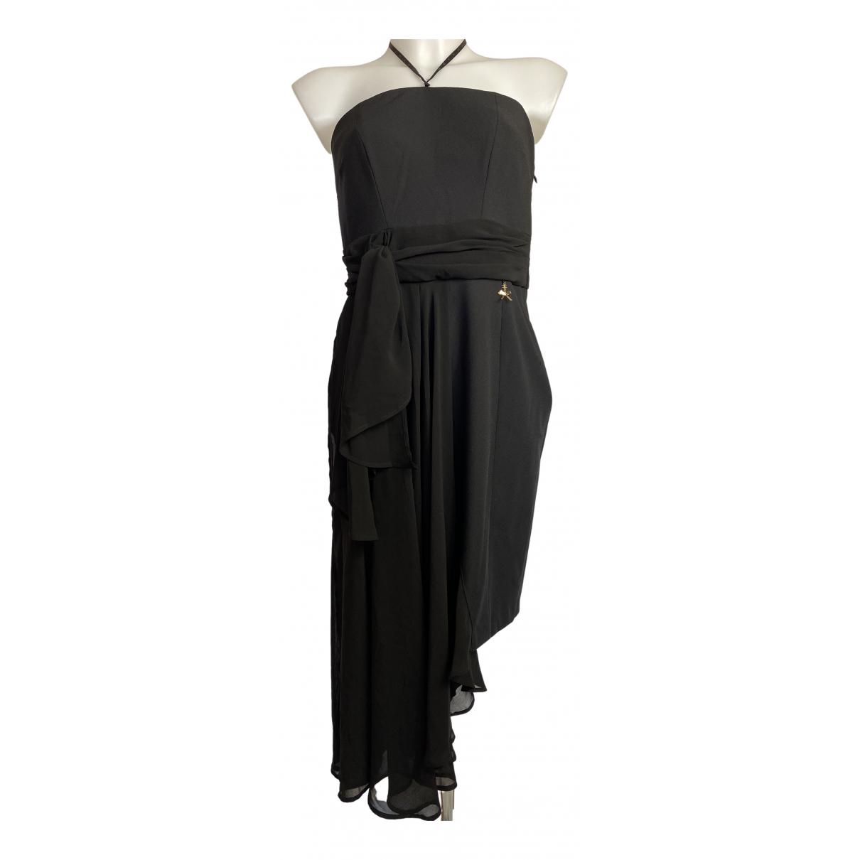Elisabetta Franchi \N Kleid in  Schwarz Polyester