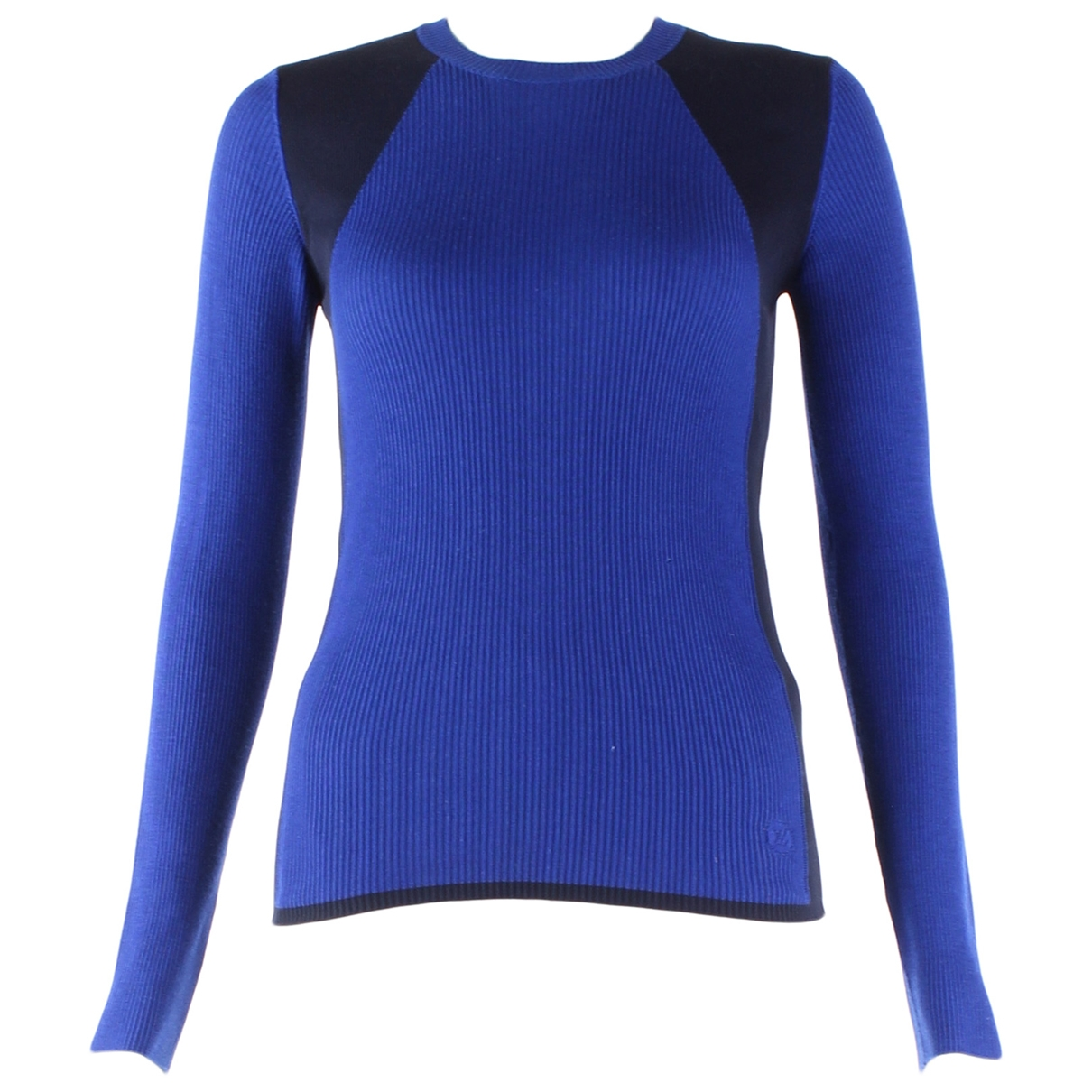Louis Vuitton \N Blue Wool  top for Women S International