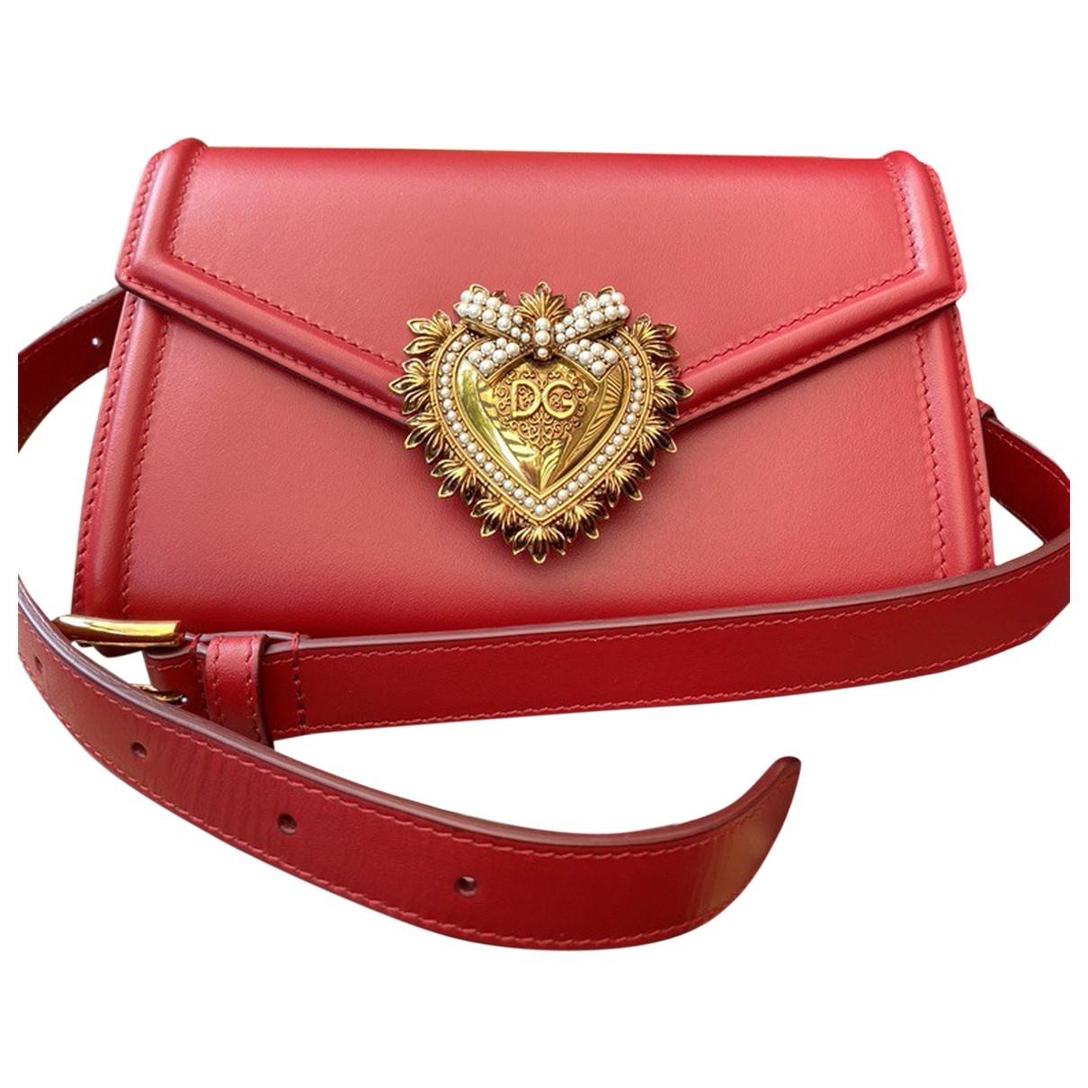 Dolce & Gabbana \N Red Leather Clutch bag for Women \N
