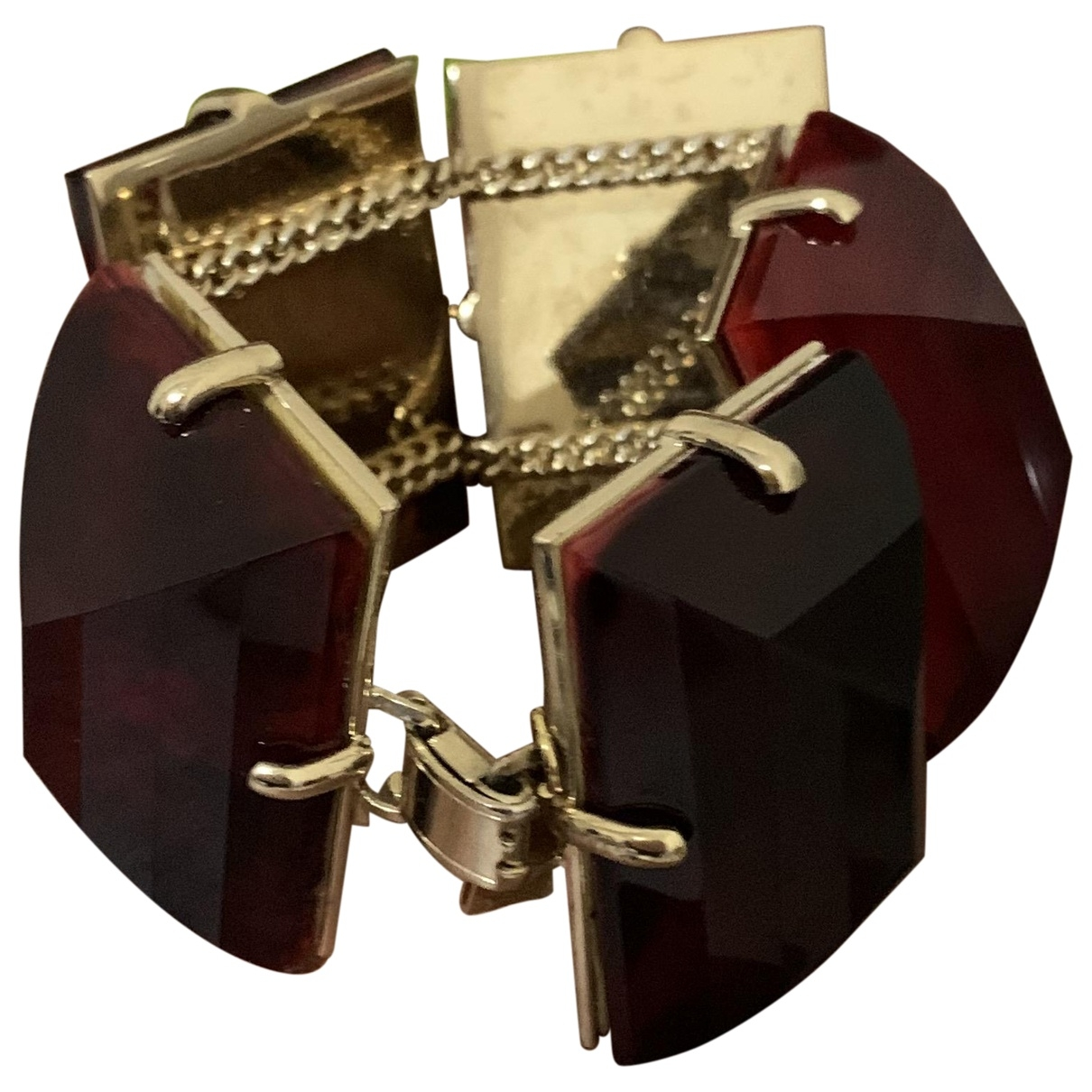 Etro \N Armband in  Rot Kunststoff