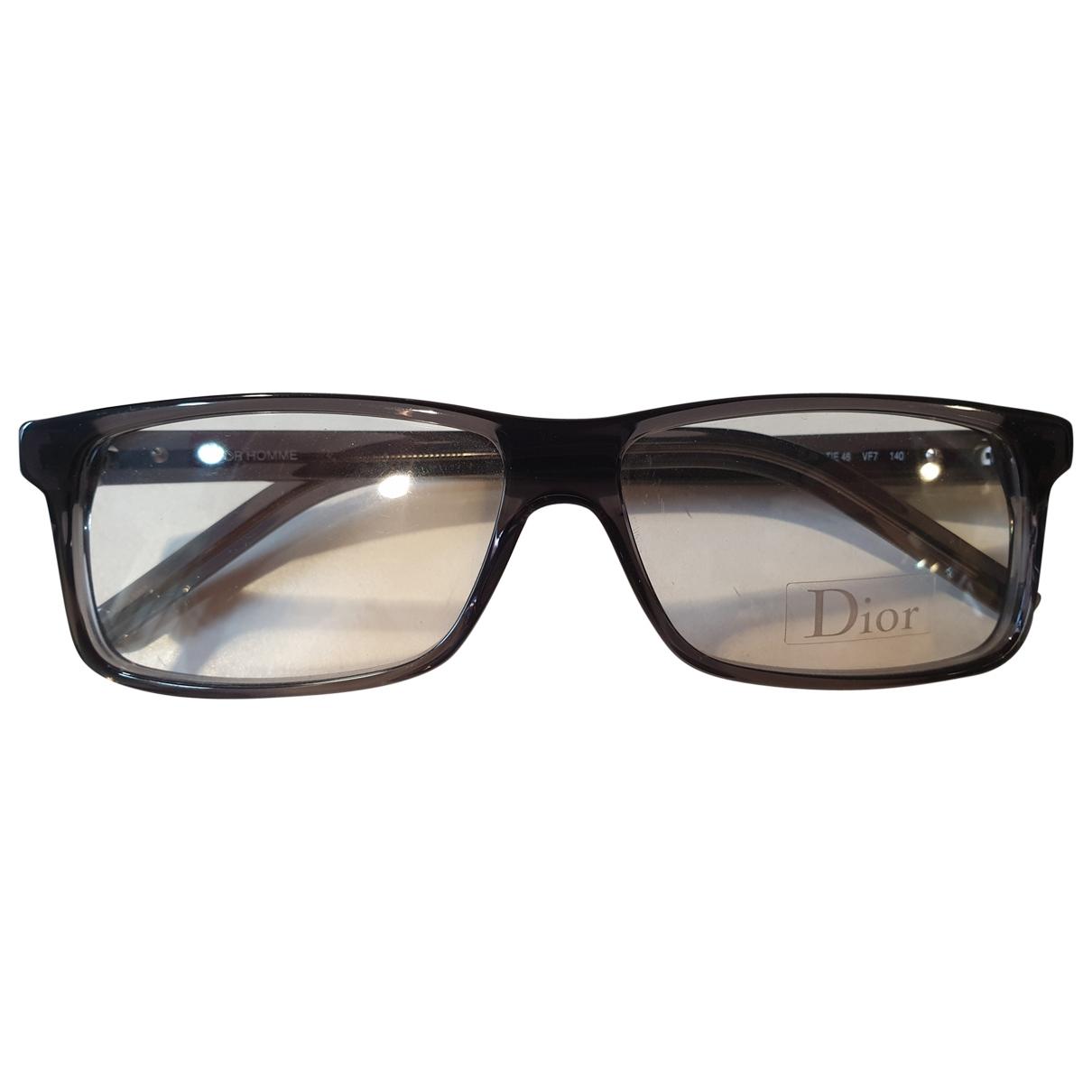 Dior Homme \N Sonnenbrillen in  Anthrazit Kunststoff