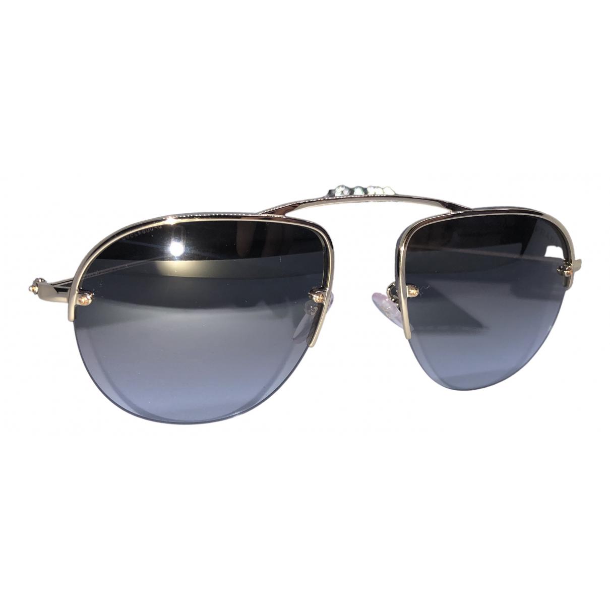 Prada \N Silver Metal Sunglasses for Women \N