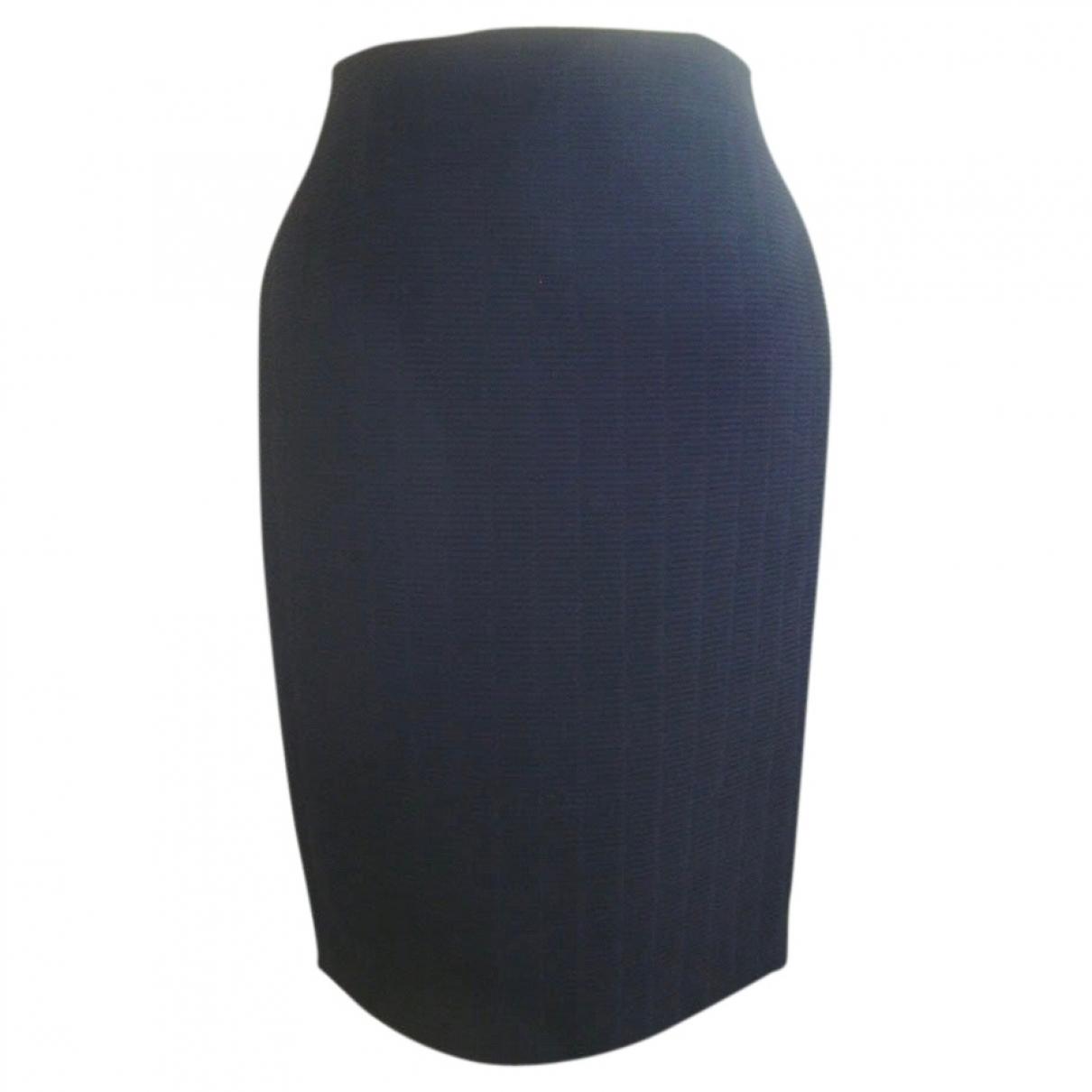 Gianni Versace \N Black Wool skirt for Women 6 US