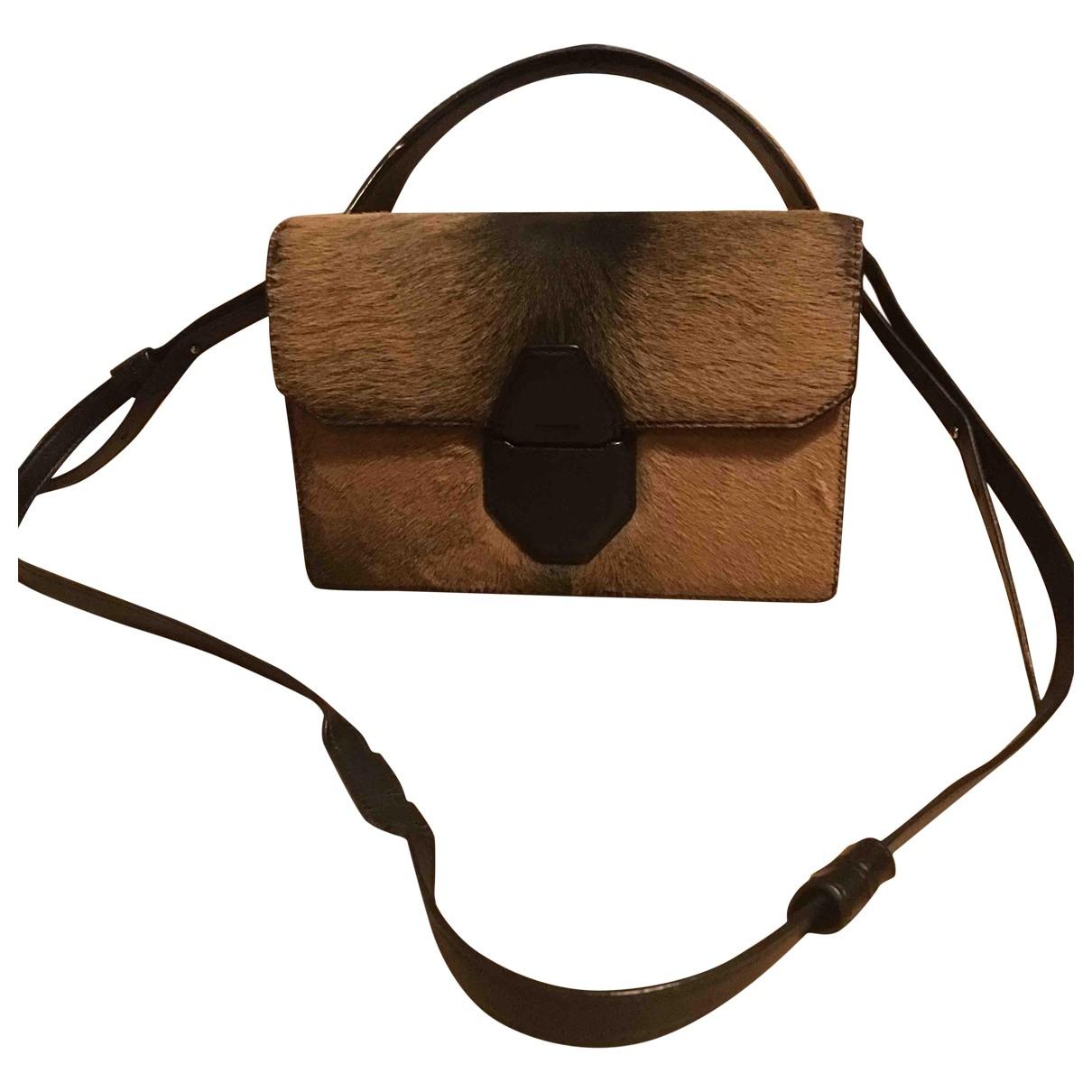 Alexander Wang \N Brown Pony-style calfskin handbag for Women \N