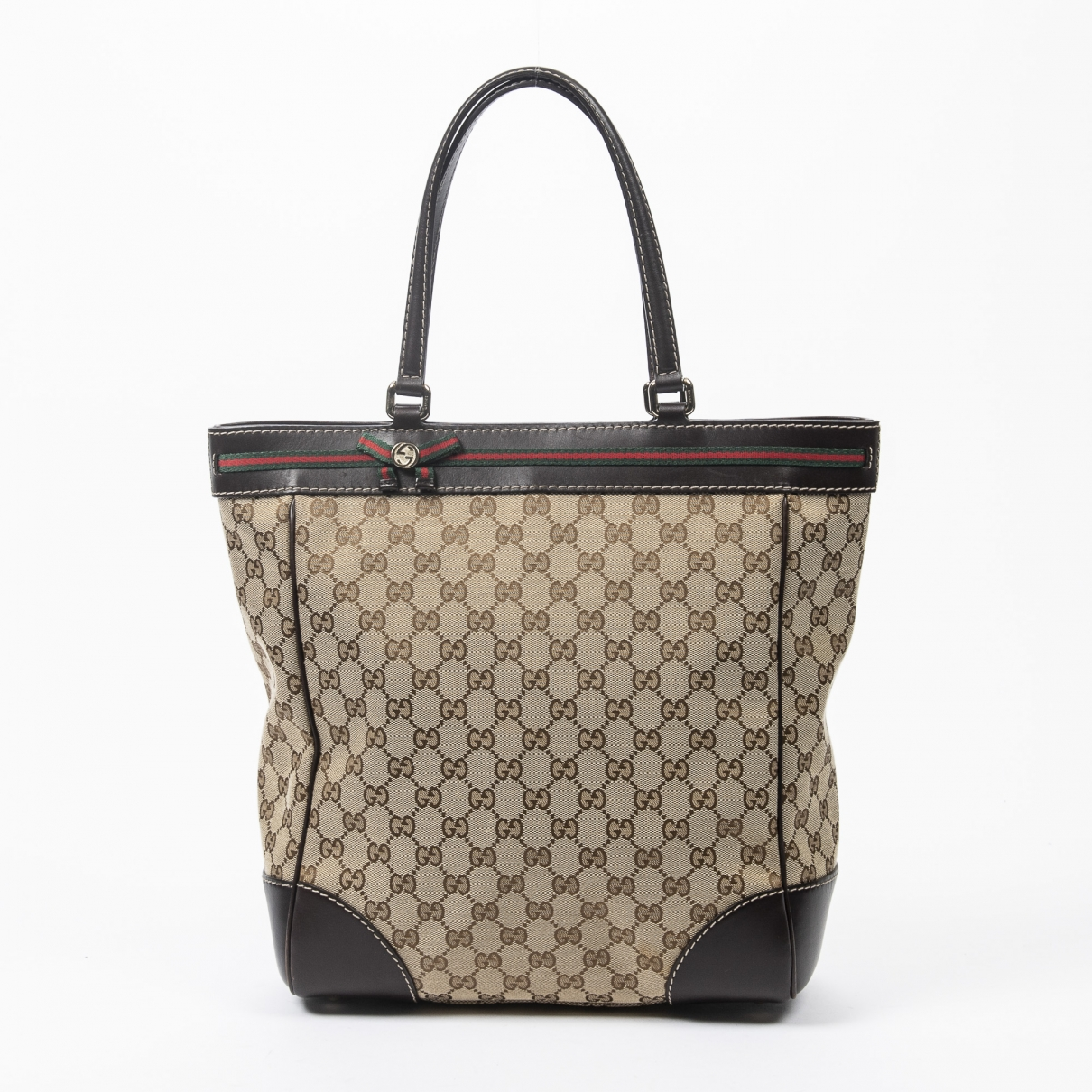 Gucci \N Brown Cotton handbag for Women \N