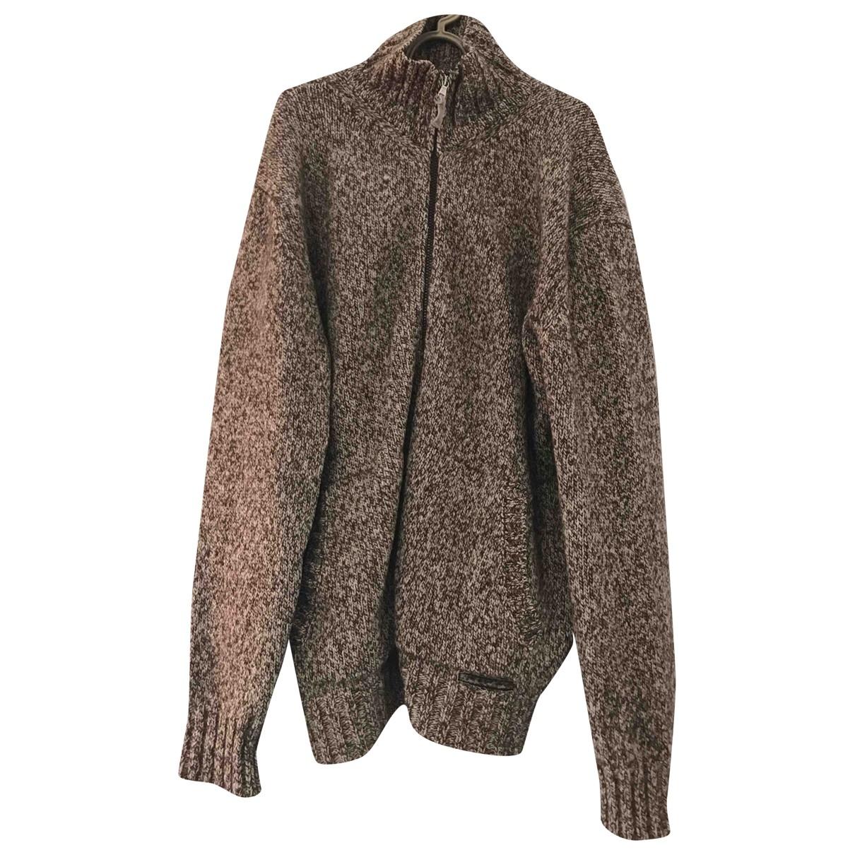 Non Signe / Unsigned \N Pullover.Westen.Sweatshirts  in  Bunt Wolle