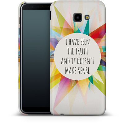 Samsung Galaxy J4 Plus Smartphone Huelle - Truth von Mareike Bohmer
