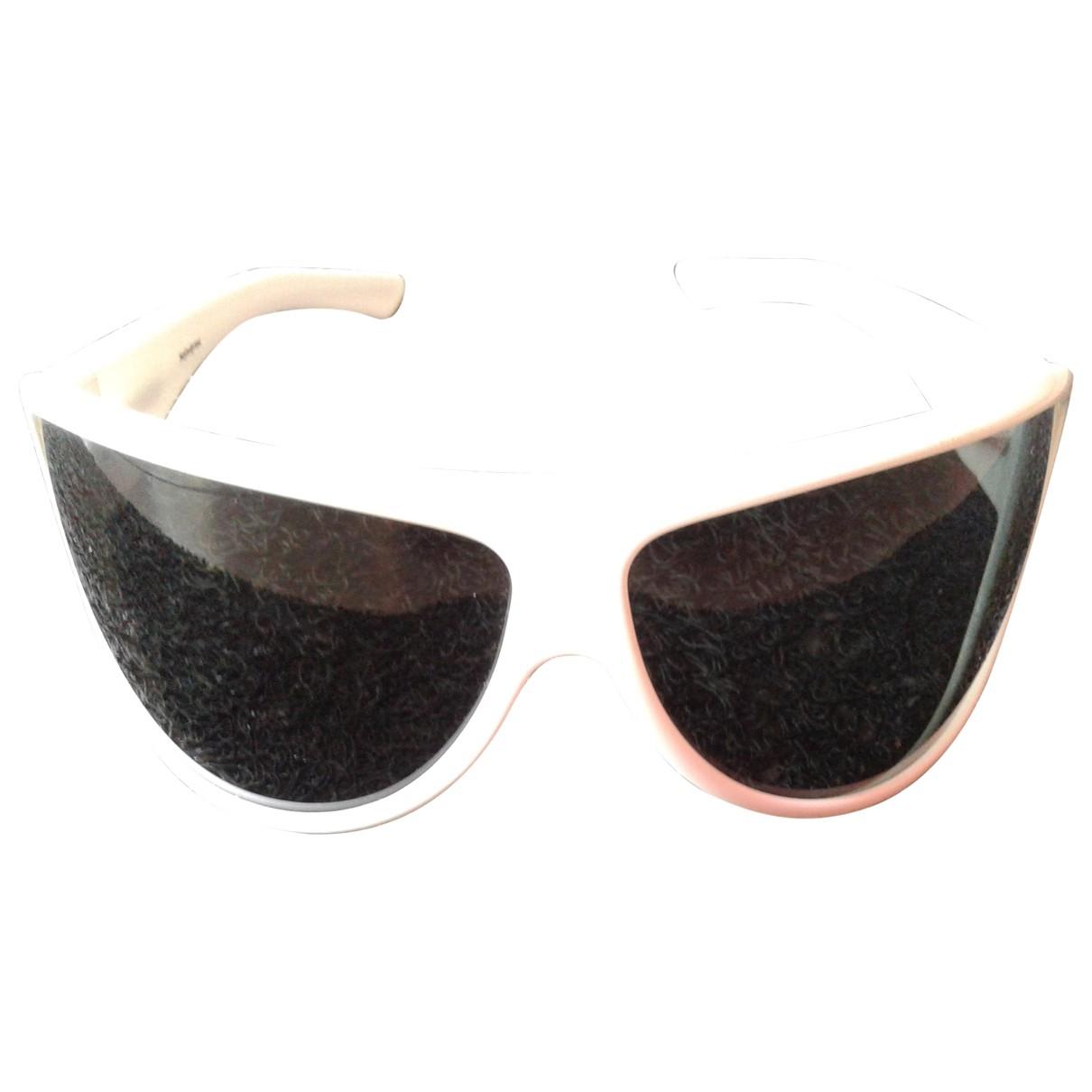 Yves Saint Laurent \N Sonnenbrillen in  Weiss Kunststoff