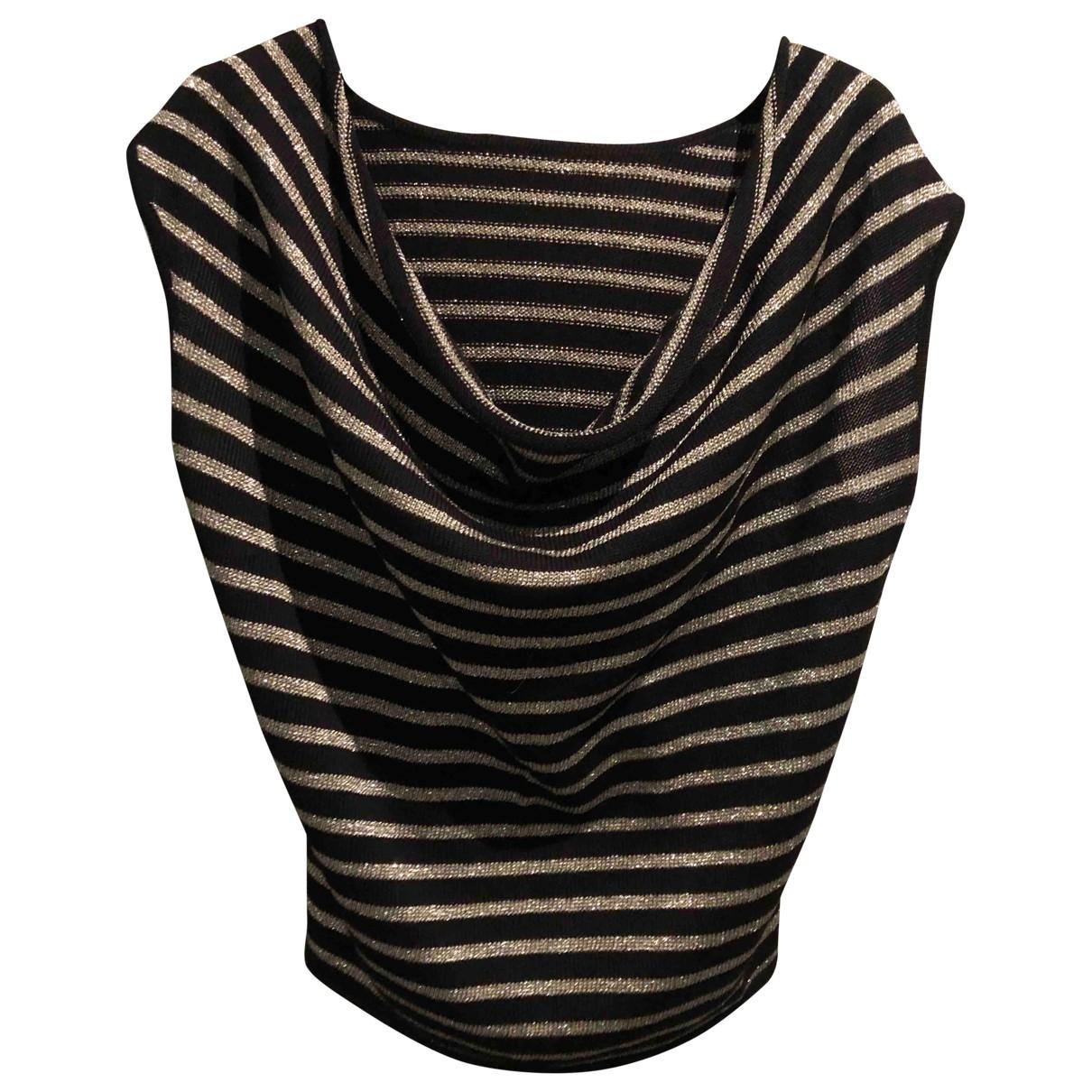 Saint Laurent - Top   pour femme en laine - noir