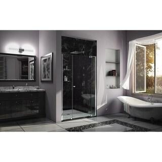 DreamLine Allure 49-50 in. W x 73 in. H Frameless Pivot Shower Door - 49