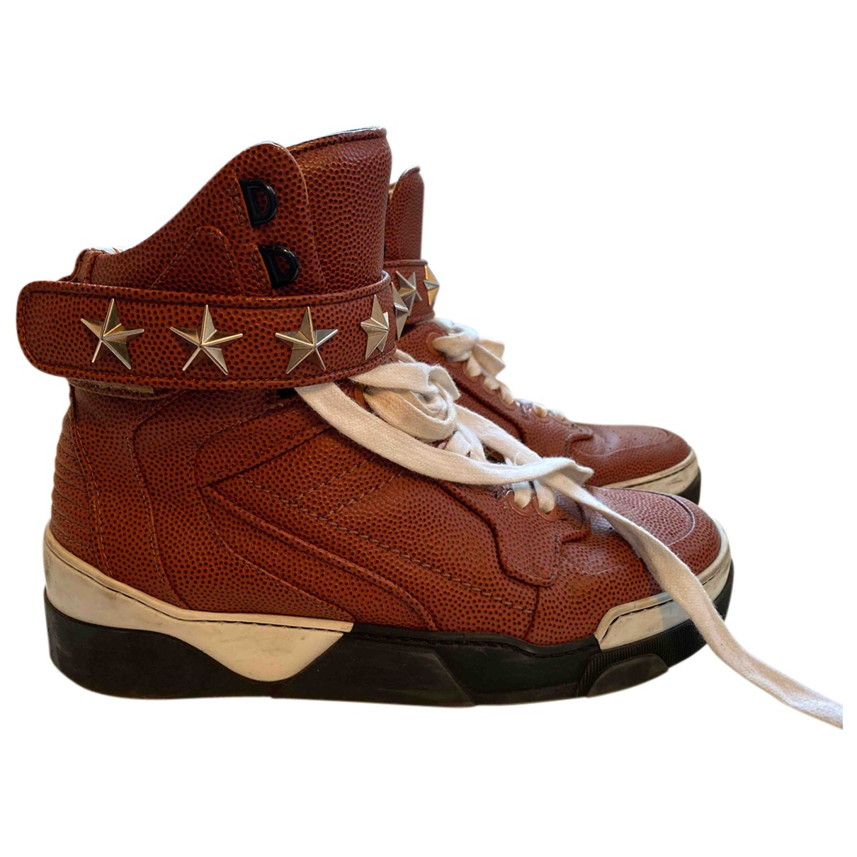 Givenchy \N Sneakers in  Braun Leder