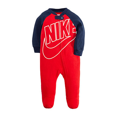 Nike Baby Boys Sleep and Play, Newborn-3 Months , Red