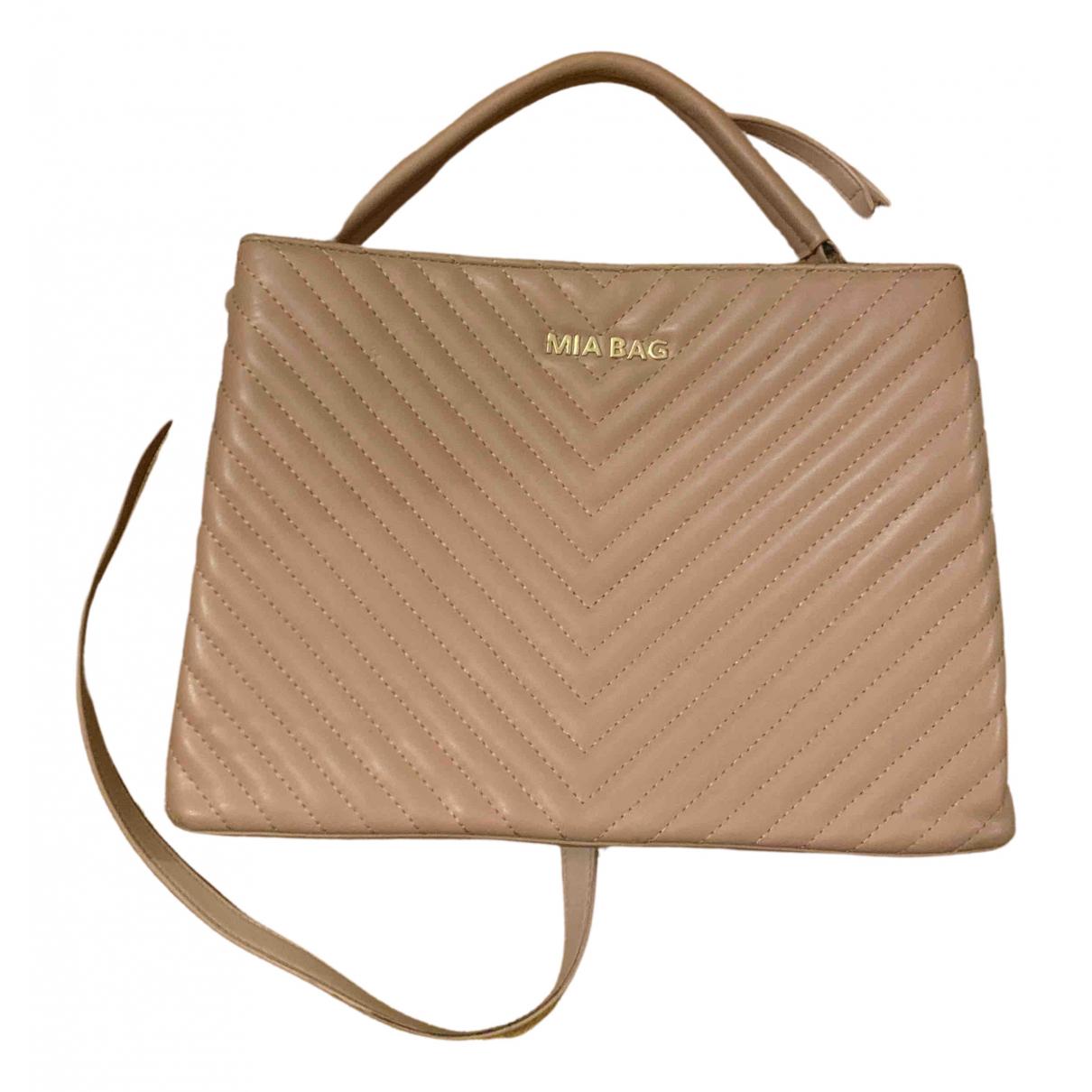 Mia Bag \N Handtasche in  Rosa Leder