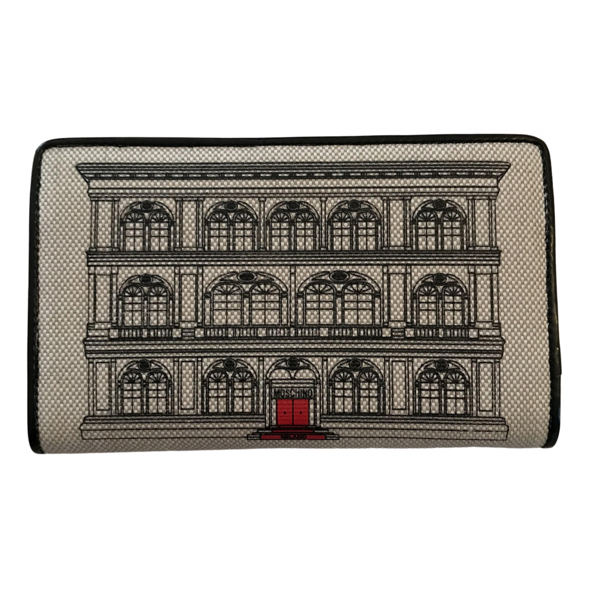 Moschino Love N Grey Cloth Purses, wallet & cases for Women N