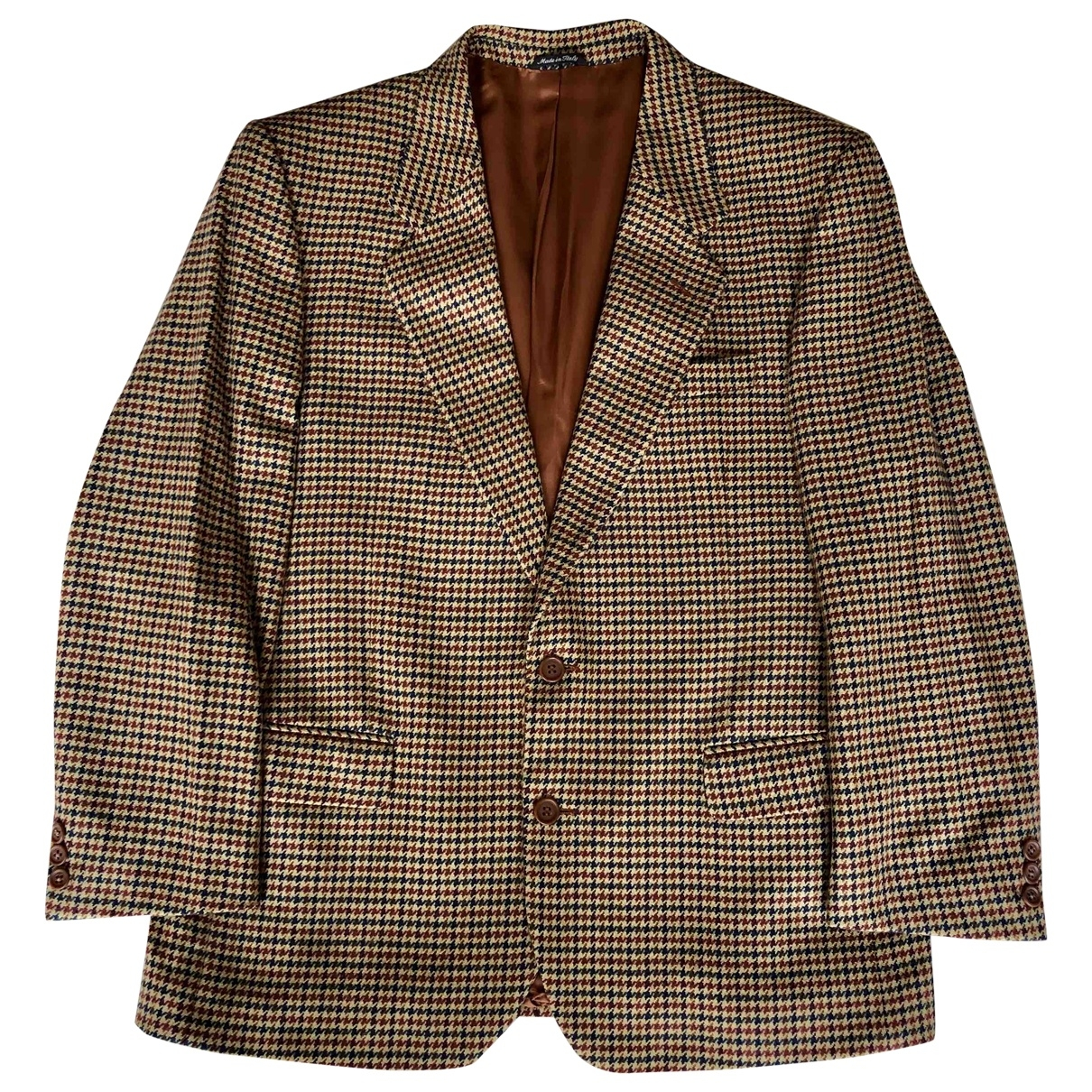 Non Signé / Unsigned \N Brown Cashmere jacket  for Men 54 IT