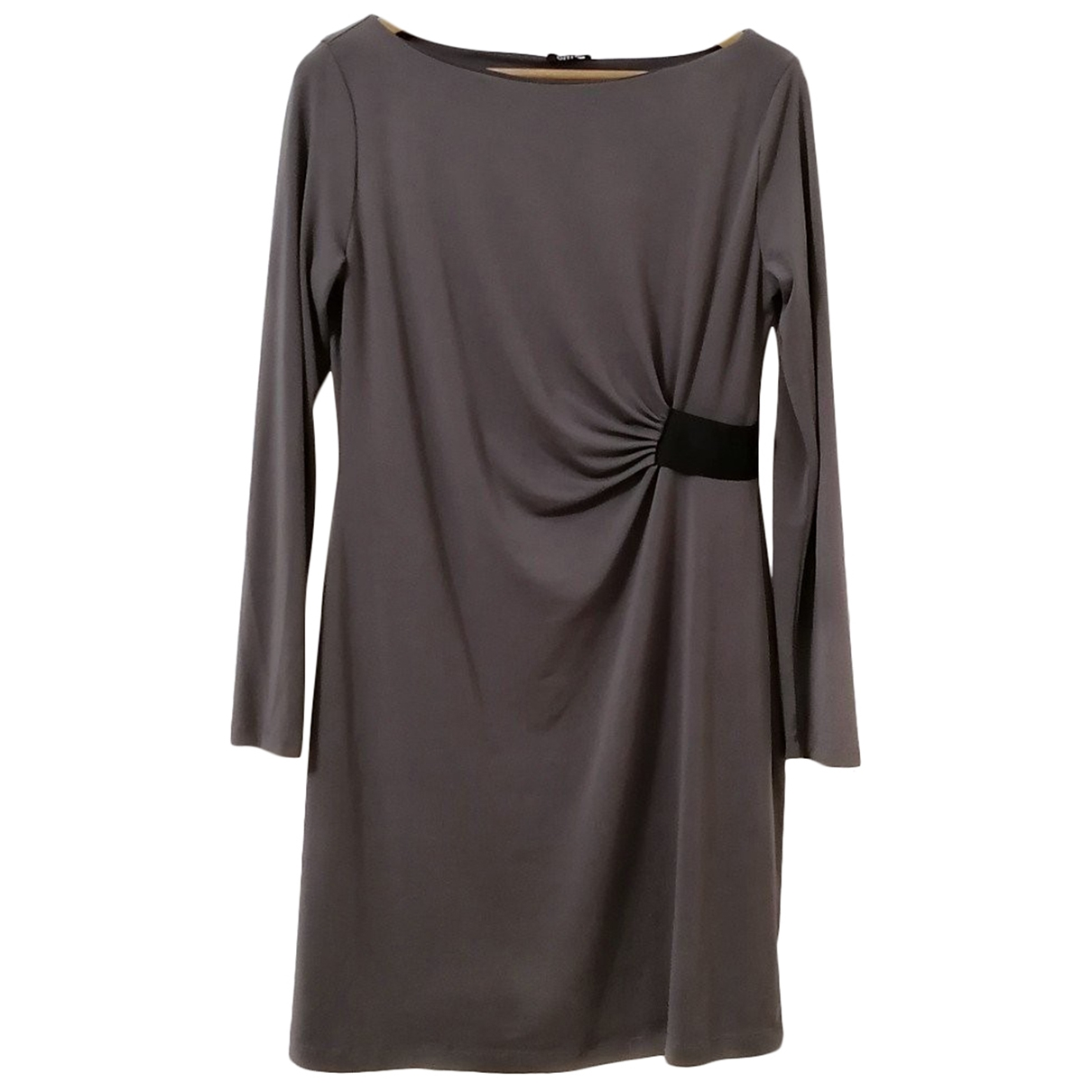 Non Signé / Unsigned \N Grey dress for Women 44 IT