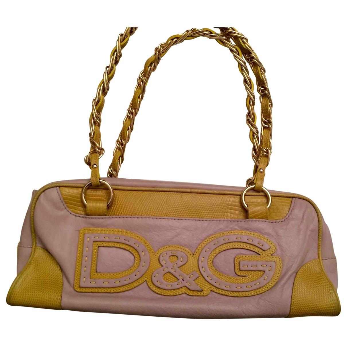 Dolce & Gabbana \N Purple Leather handbag for Women \N