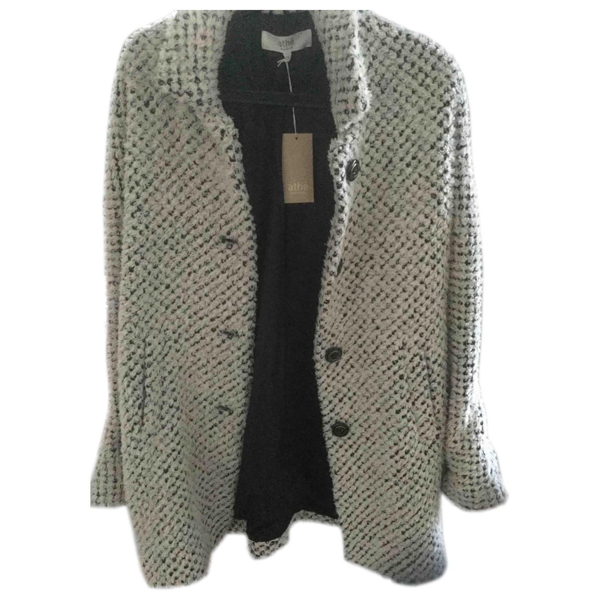 Vanessa Bruno Athe \N Ecru Wool coat for Women 36 FR