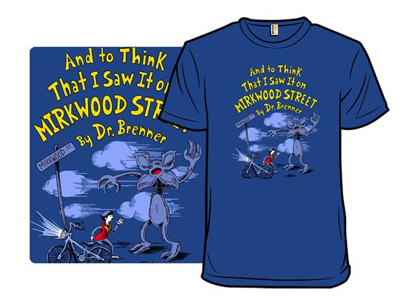 Mirkwood Street T Shirt
